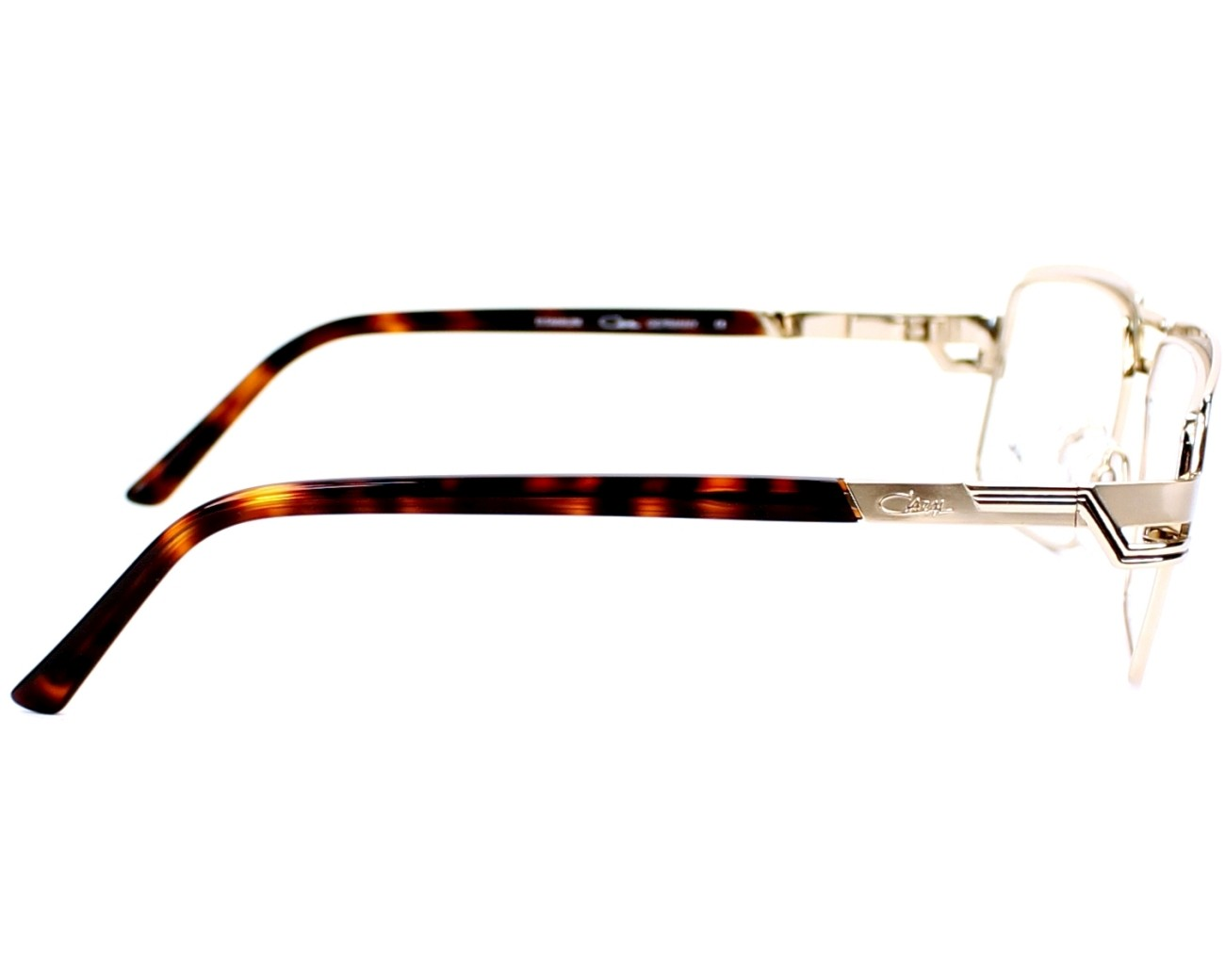 f3c665fad725 eyeglasses Cazal 7053 003 - Gold Gold side view