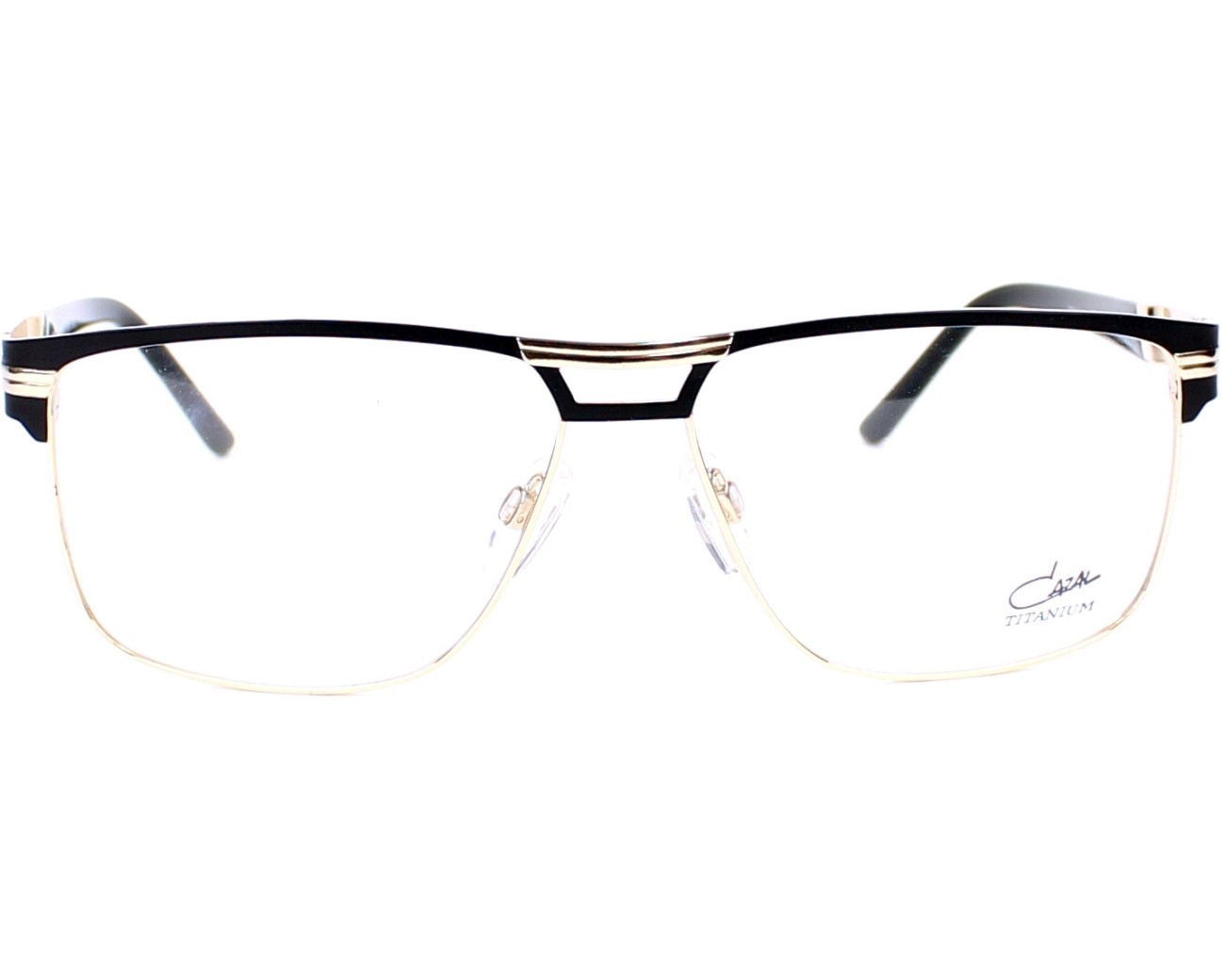 b70ad85e0d eyeglasses Cazal 7054 001 - Black Gold front view