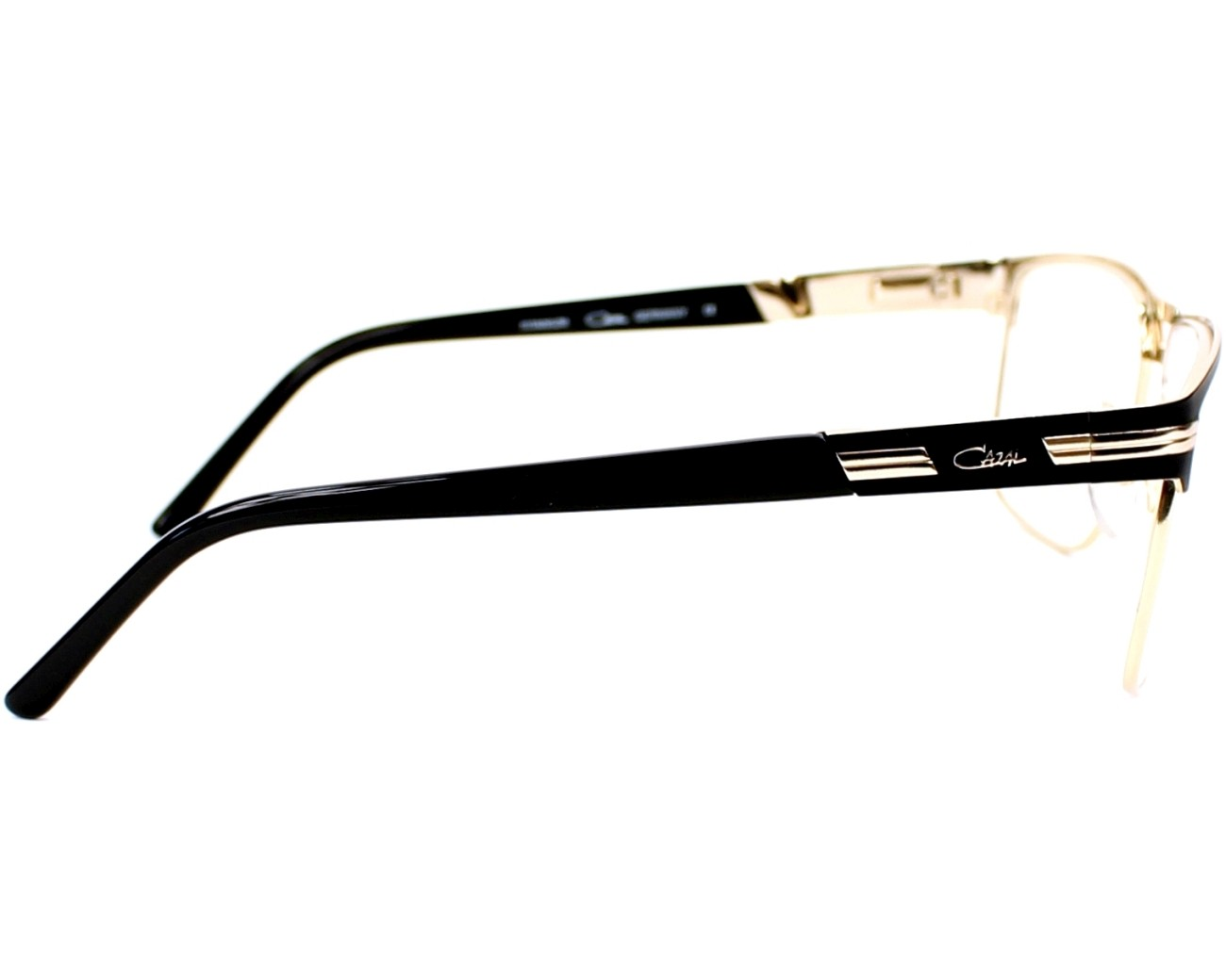 c445d010aa eyeglasses Cazal 7054 001 - Black Gold side view