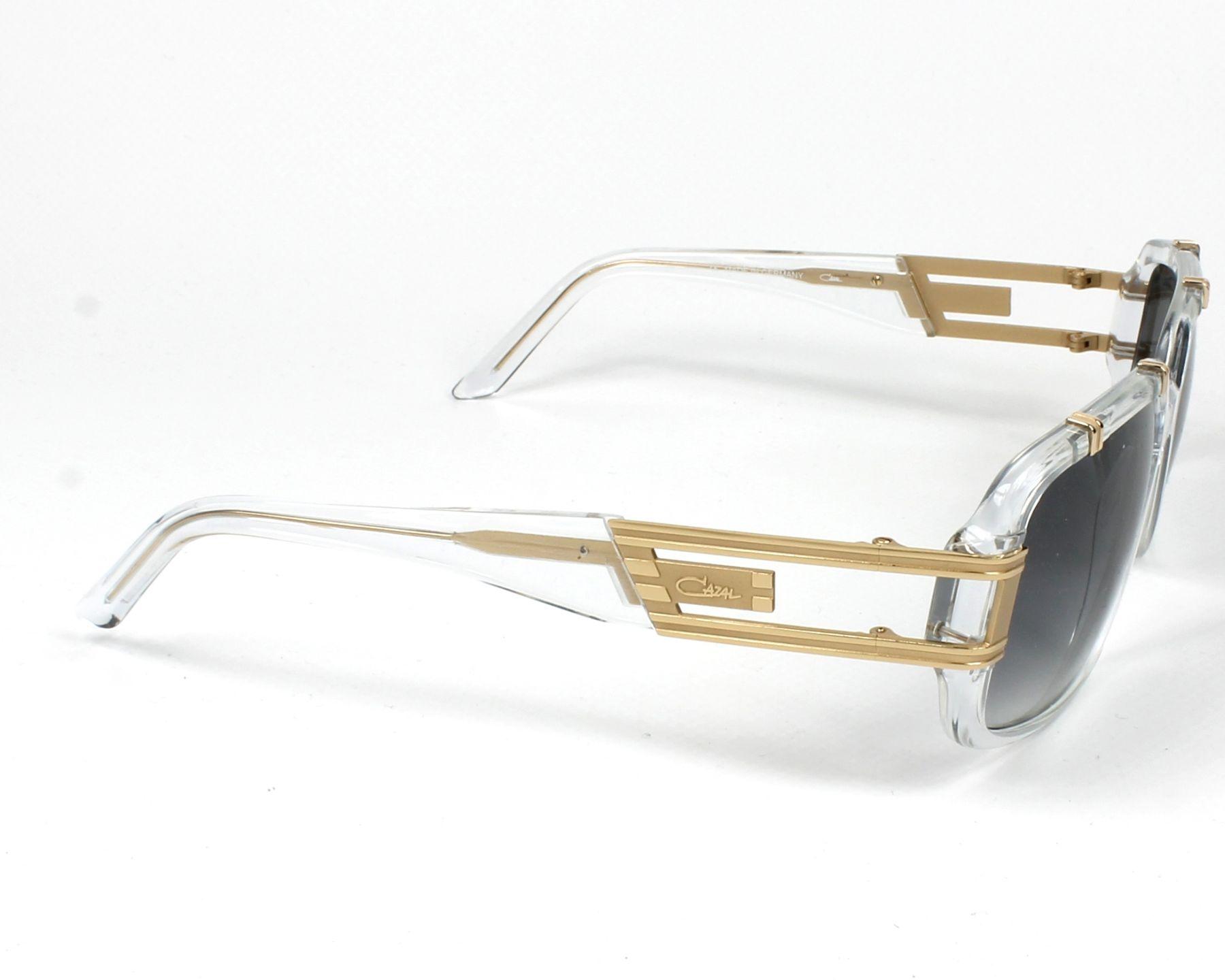 5cc7bfaa615 Sunglasses Cazal 8012 065 62-15 Crystal Gold side view
