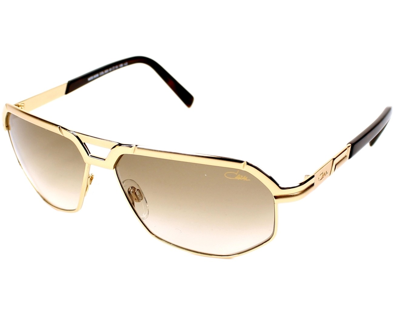 Cazal Sunglasses Gold With Brown Lenses 9056 003 Visionet Us