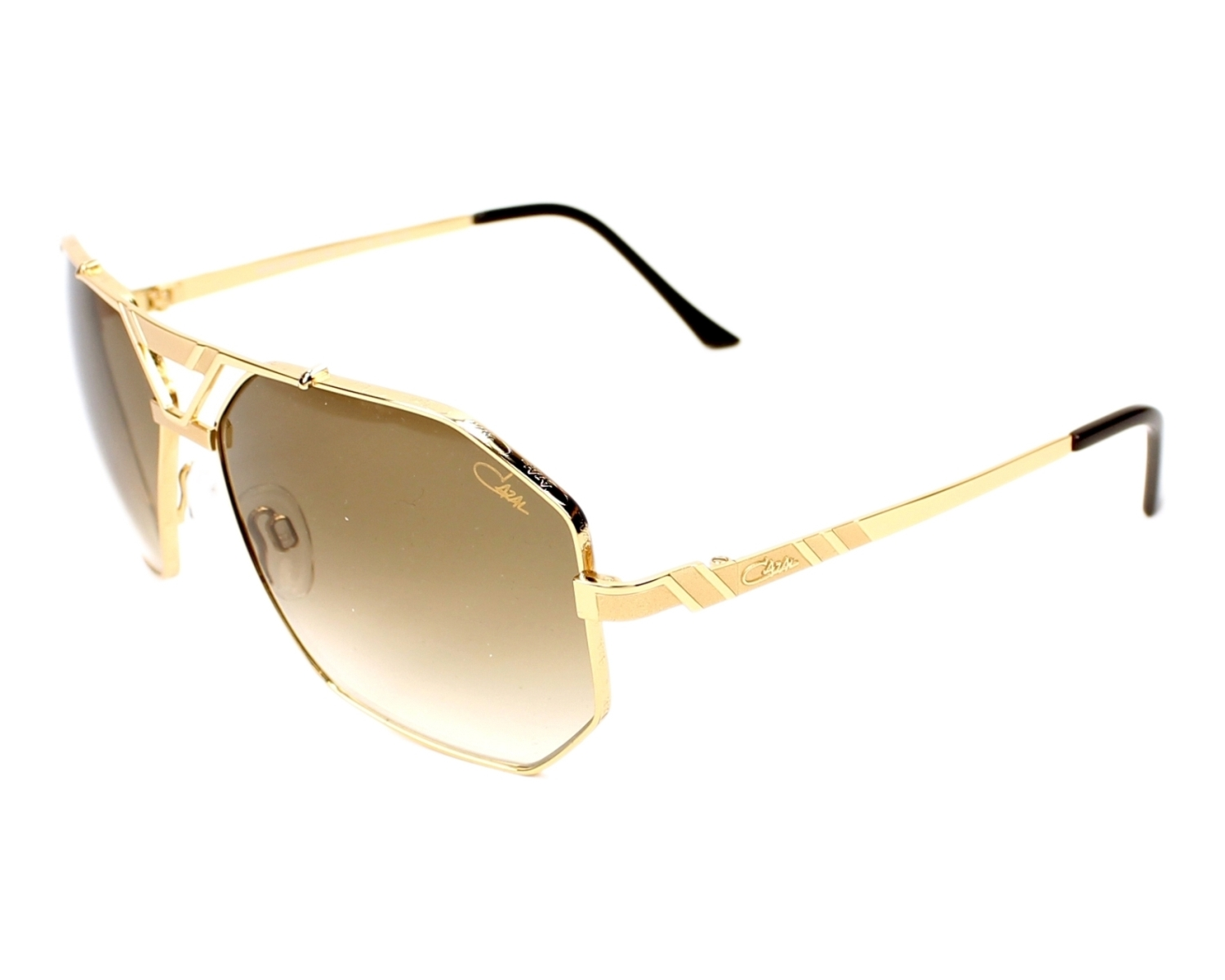 Cazal Sunglasses Gold With Brown Lenses 9058 002 Visionet Us