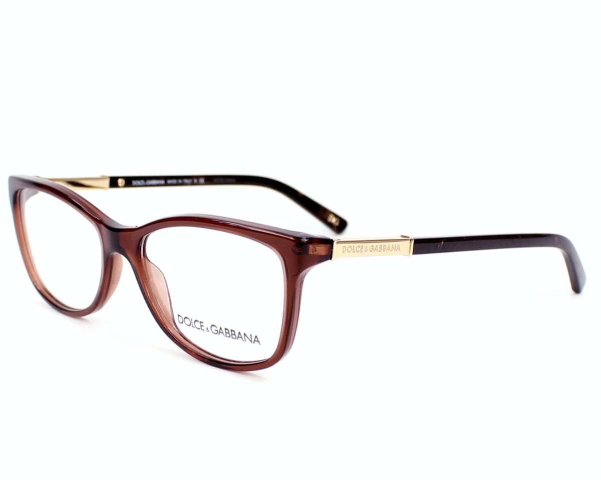 Dolce & Gabbana Eyeglasses Brown DG-3107 2542 - Visionet US