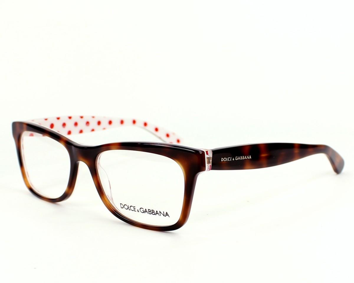 b6b32ff2c185 eyeglasses Dolce & Gabbana DG-3199 2872 - Brown White profile view