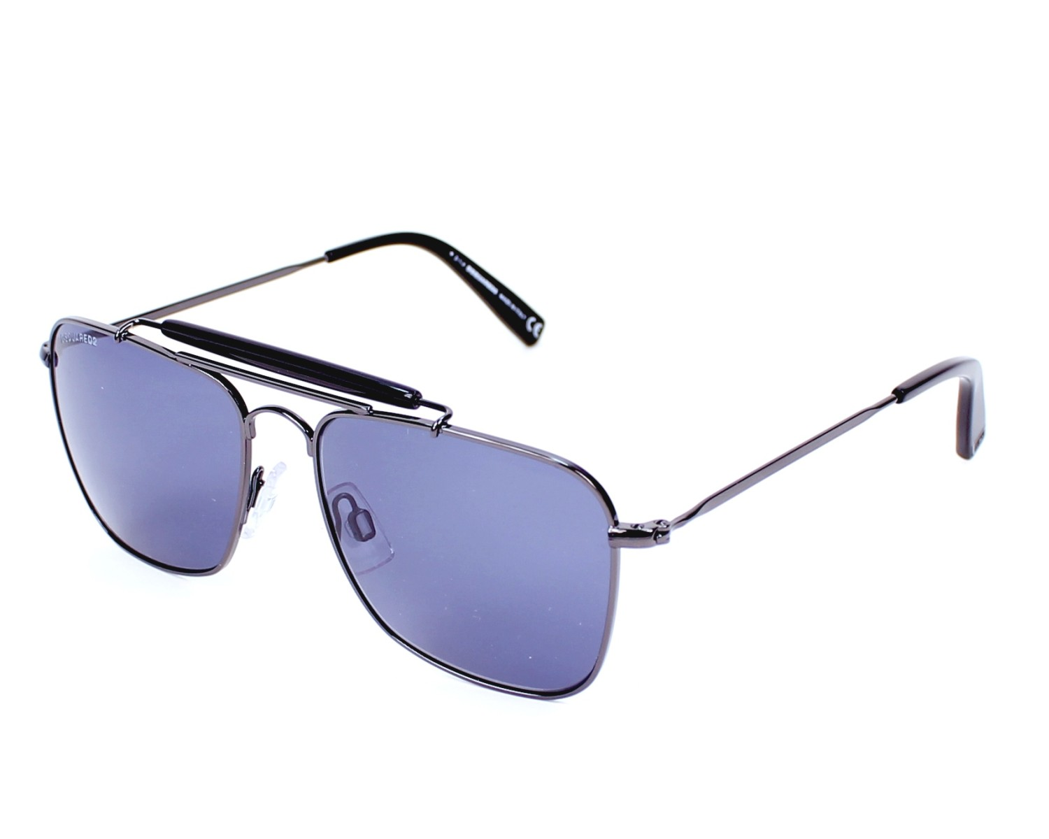 d99fd265791 Sunglasses DSQUARED DQ-0165 01V 54-16 Gun profile view