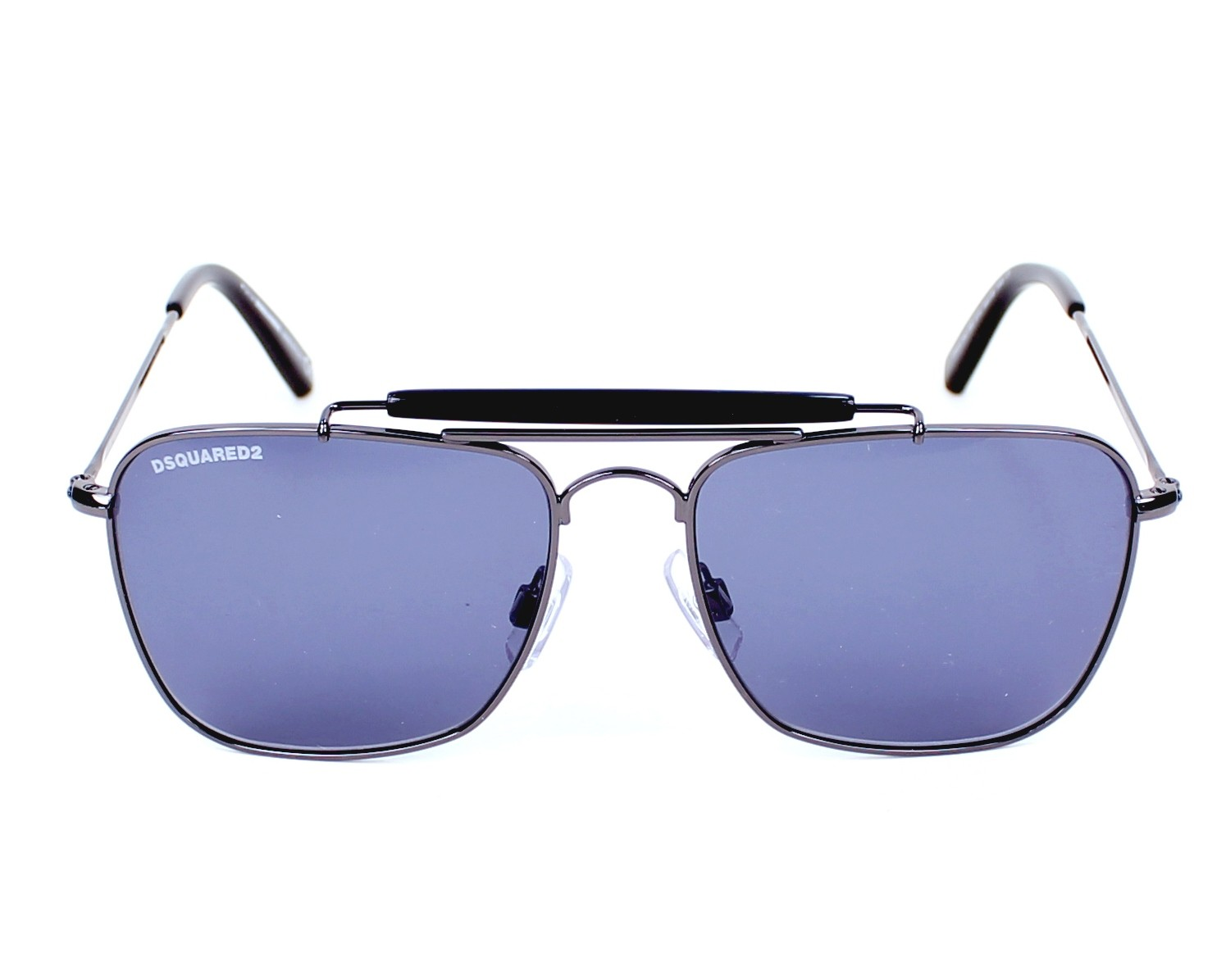 60ae3574c01 Sunglasses DSQUARED DQ-0165 01V 54-16 Gun front view