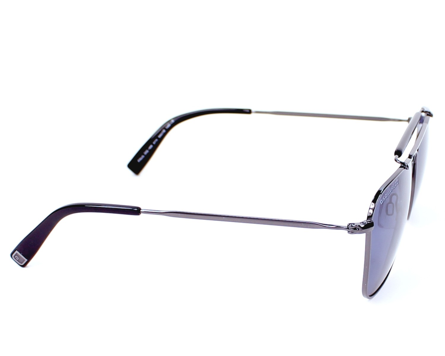 3fc0d8fb92a Sunglasses DSQUARED DQ-0165 01V 54-16 Gun side view