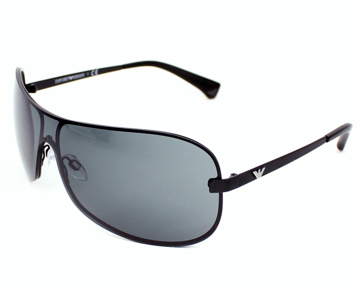 9dfe45093213 Sunglasses Emporio Armani EA-2008 302287 - Black profile view