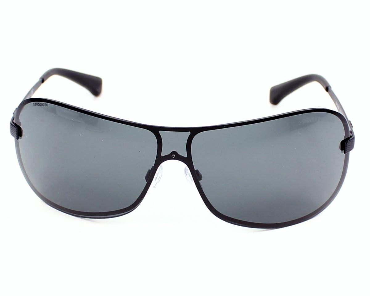 a019e381bcc8 Sunglasses Emporio Armani EA-2008 302287 - Black front view