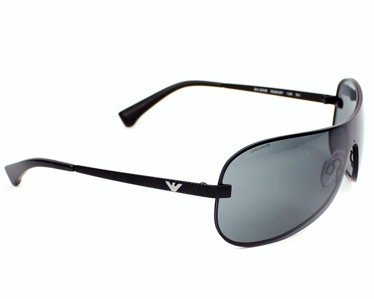 68b7986b1834 Sunglasses Emporio Armani EA-2008 302287 - Black side view