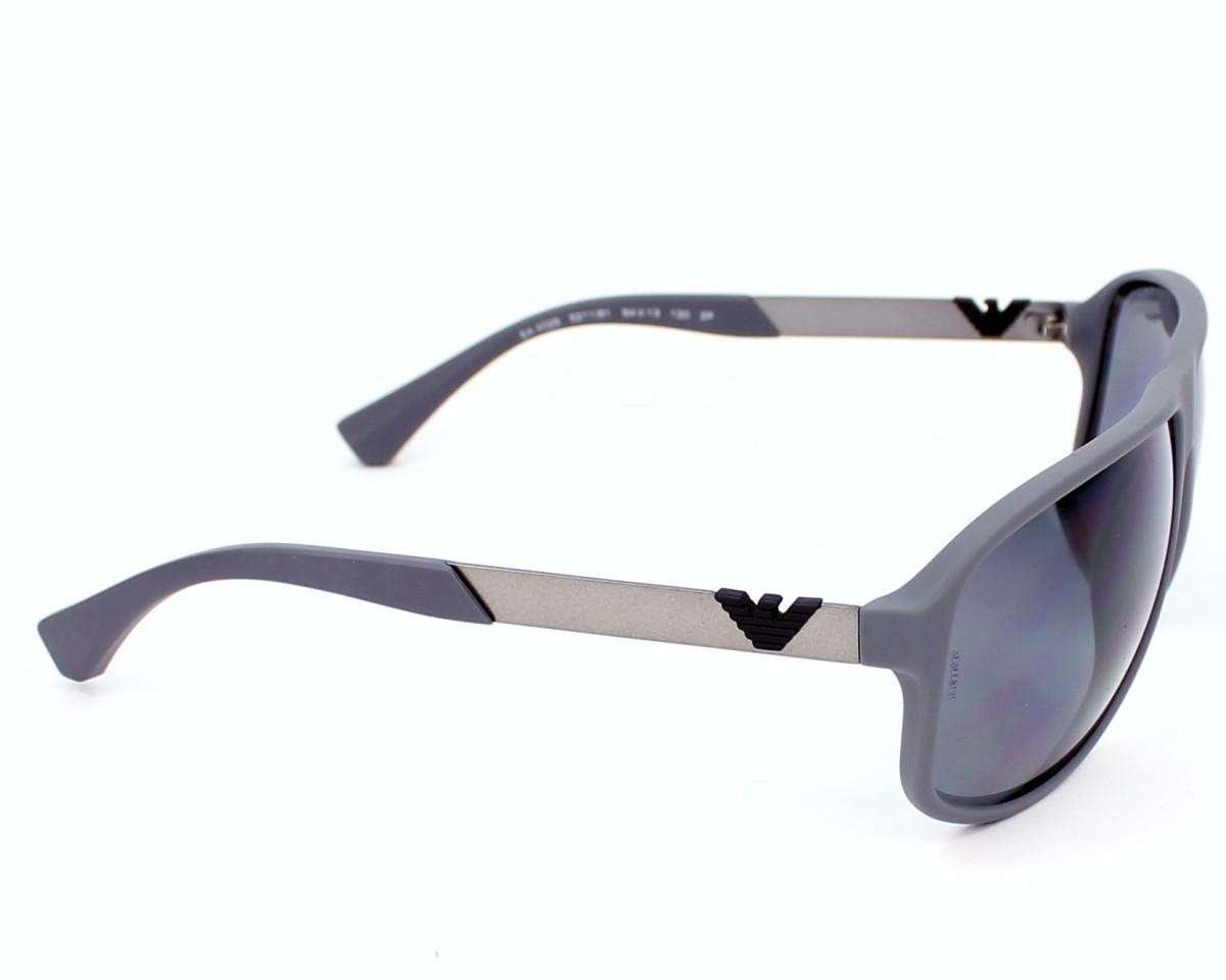 0d3def74f8b Sunglasses Emporio Armani EA-4029 5211 81 - Grey side view