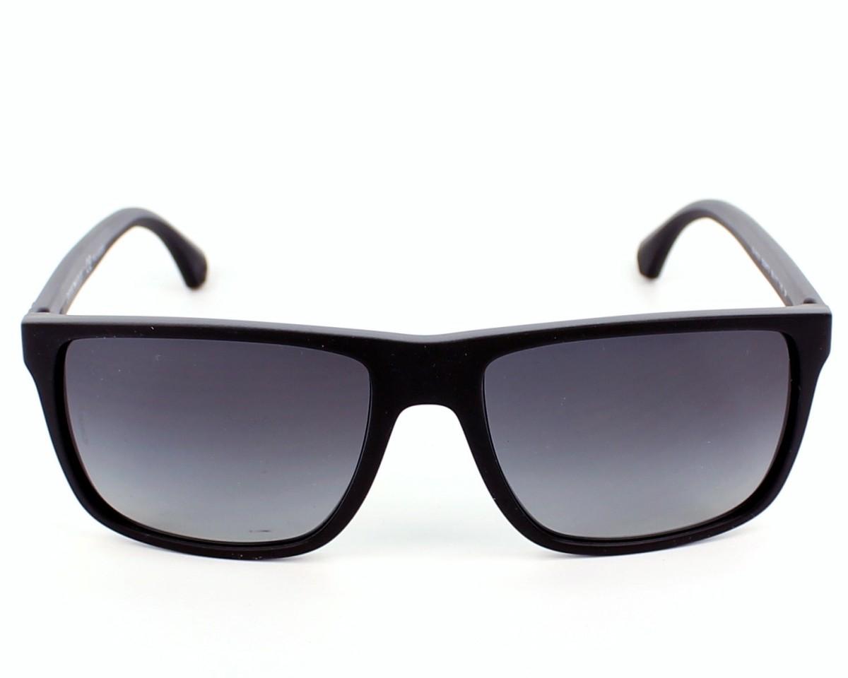 fdedbe33993e Sunglasses Emporio Armani EA-4033 5229T3 56-17 Black Grey front view