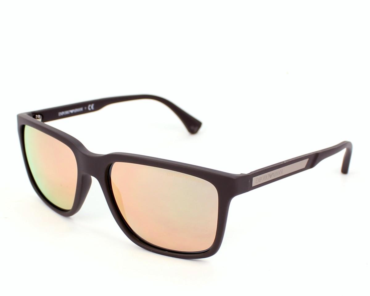 27bc4a0476b8 Sunglasses Emporio Armani EA-4047 5305 4Z - Taupe profile view