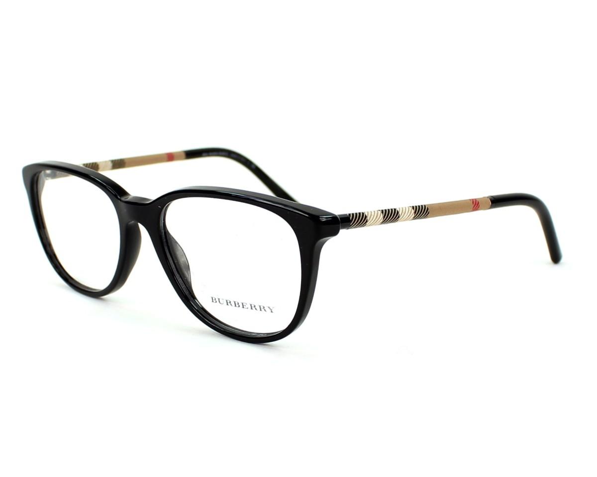 9910cf2996f9 eyeglasses Burberry BE-2112 3001 - Black profile view
