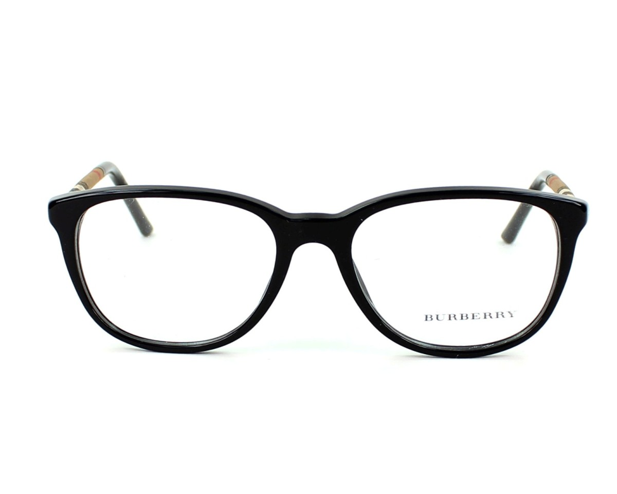 ddccef323709 eyeglasses Burberry BE-2112 3001 - Black front view