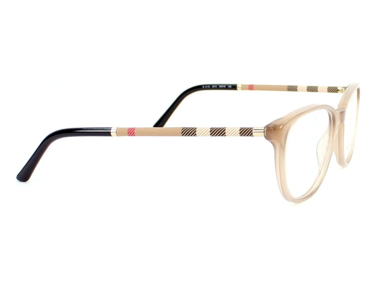 630467e308c eyeglasses Burberry BE-2112 3012 - Beige side view