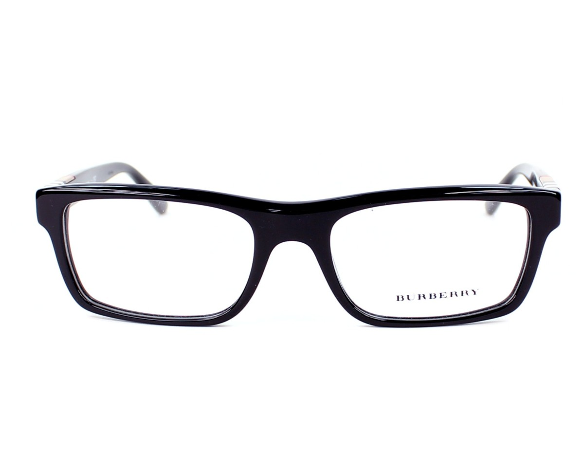 c866d3c5e9cc eyeglasses Burberry BE-2138 3396 - Black front view
