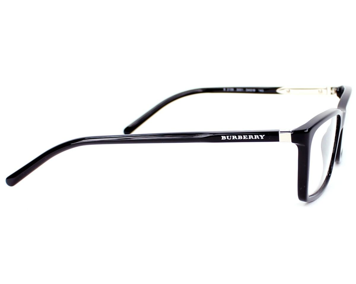 9f28dce2e7b9 eyeglasses Burberry BE-2139 3001 - Black side view