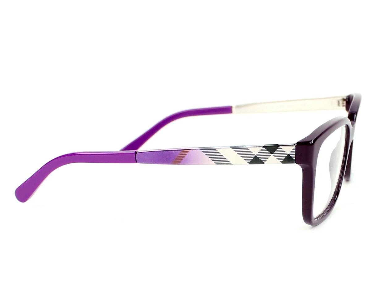 8edb058a7c74 eyeglasses Burberry BE-2143 3400 - Purple side view