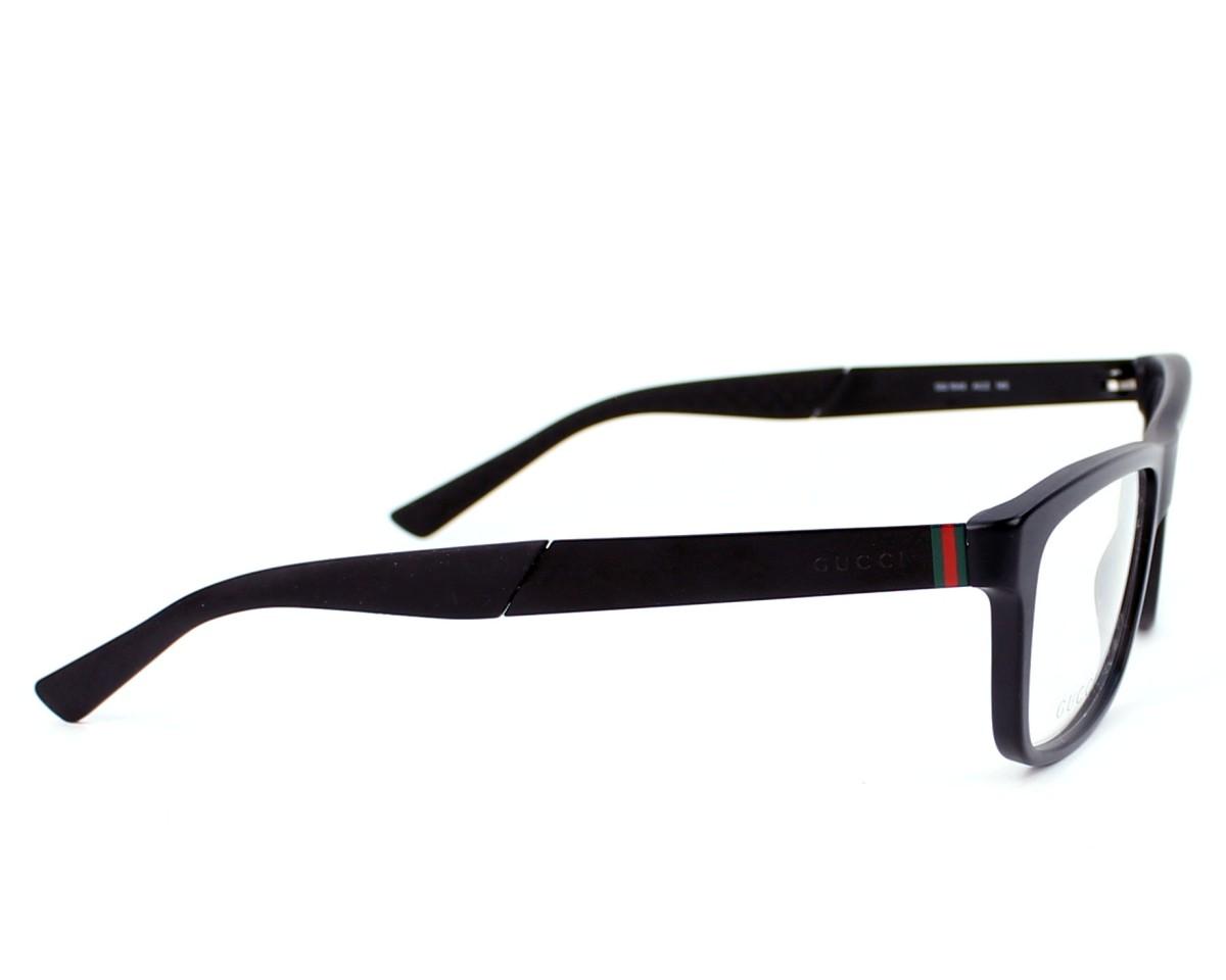 451d8d53ef4 eyeglasses Gucci GG-1045 ACZ - Black side view