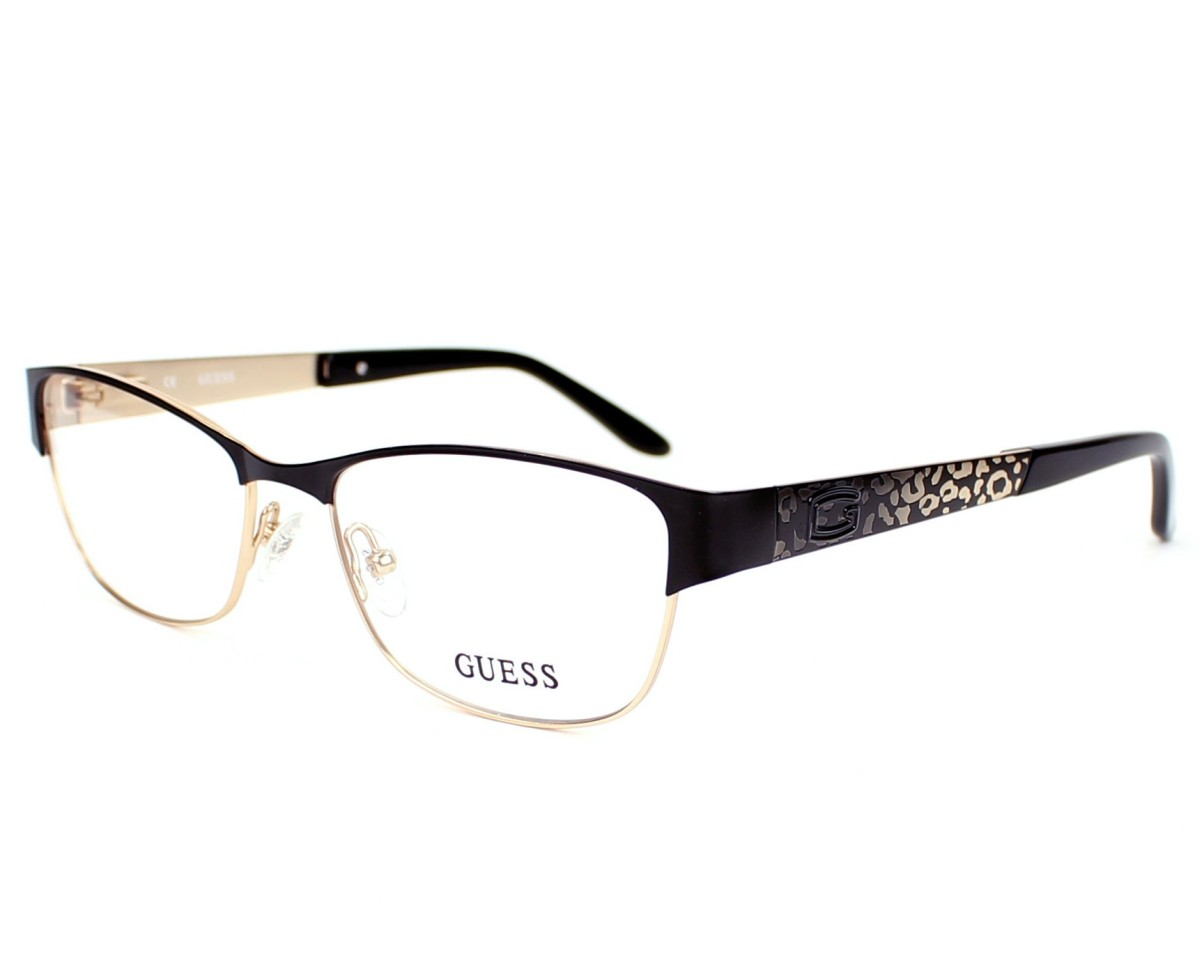 Order your Guess eyeglasses GU2389 BLKGLD 52 today