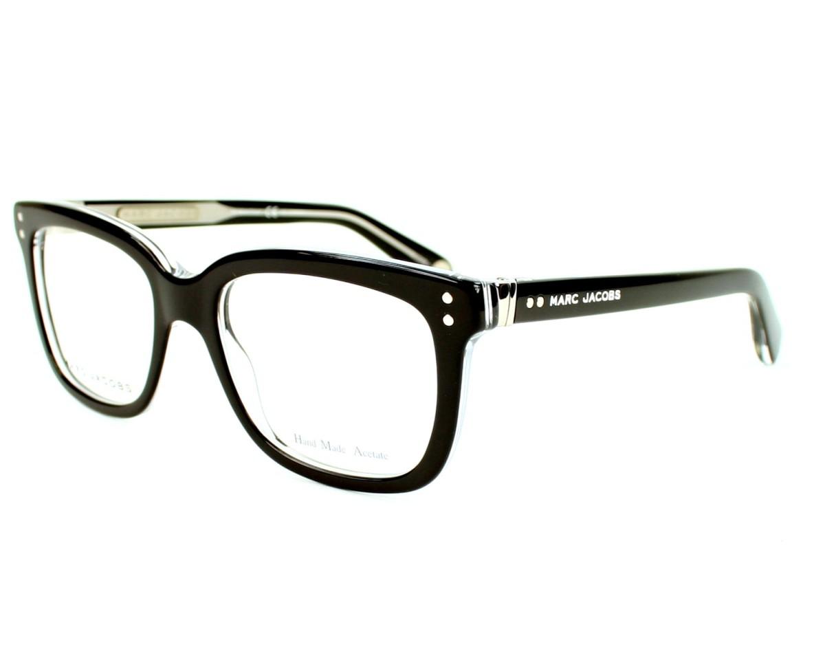 0cc2346c6a53 eyeglasses Marc Jacobs MJ-451 7C5 - Black Crystal profile view