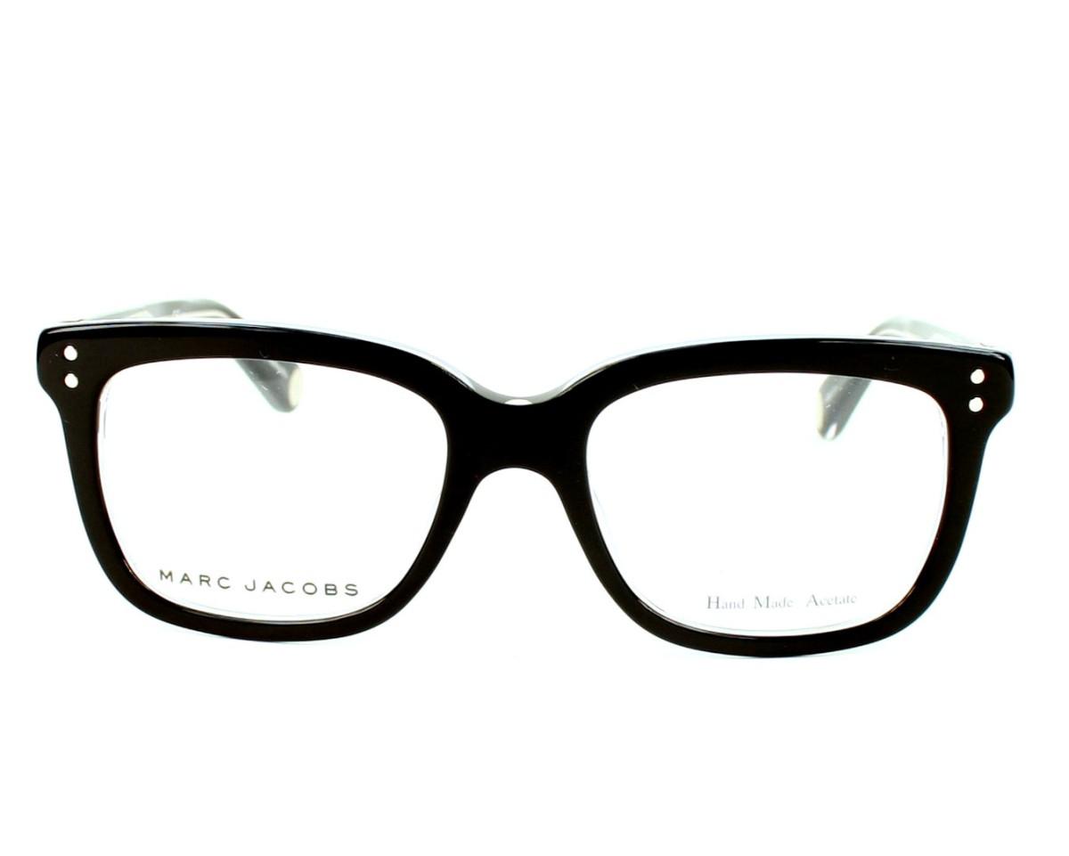 48104030ea47 eyeglasses Marc Jacobs MJ-451 7C5 - Black Crystal front view