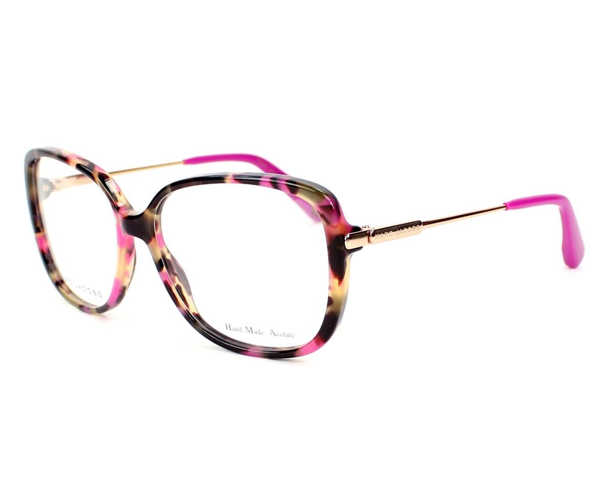marc jacobs eyeglasses mj 494 cdc fuchsia visio. Black Bedroom Furniture Sets. Home Design Ideas