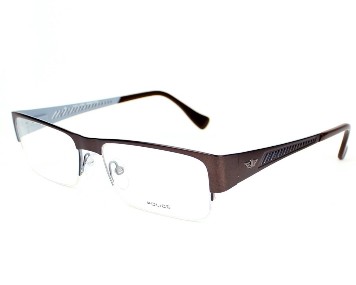 Police Eyeglasses Grey V 8793 0488 Visionet Us
