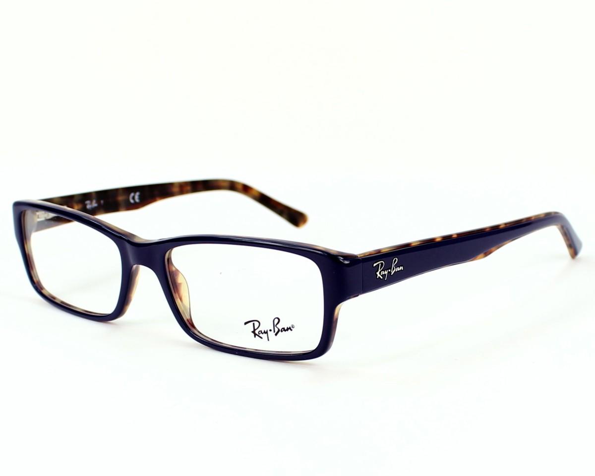 4675001b5b2 eyeglasses Ray-Ban RX-5169 5219 - Blue Havana profile view