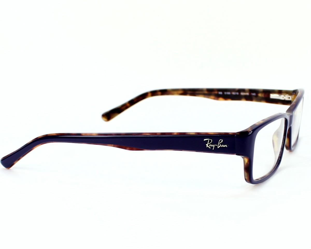a6a466e9bcb eyeglasses Ray-Ban RX-5169 5219 - Blue Havana side view