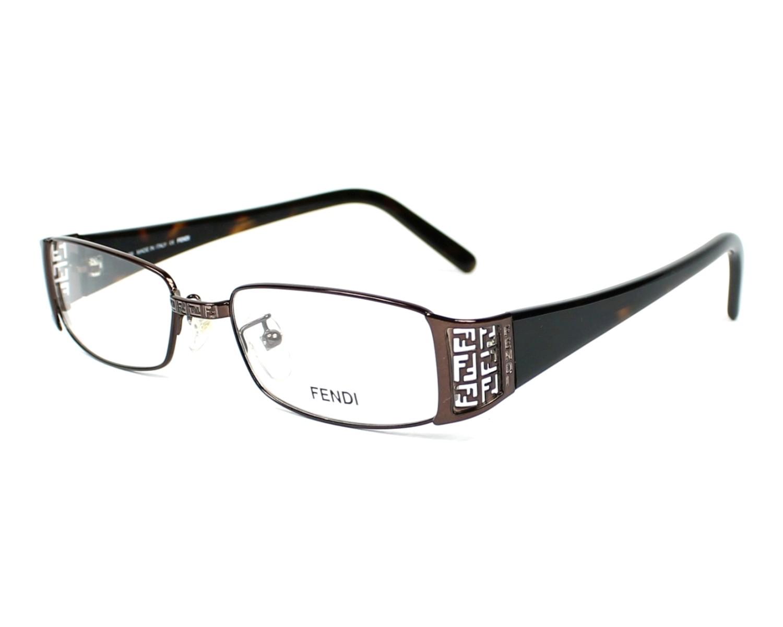 Fendi Eyeglasses Brown F-727 204 - Visionet US