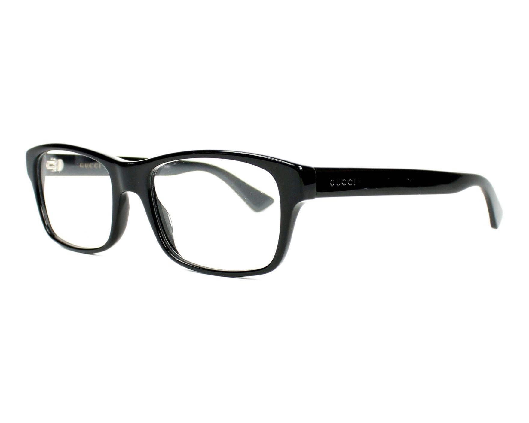 Gucci Eyeglasses Black GG-0006-O 005 - Visionet US