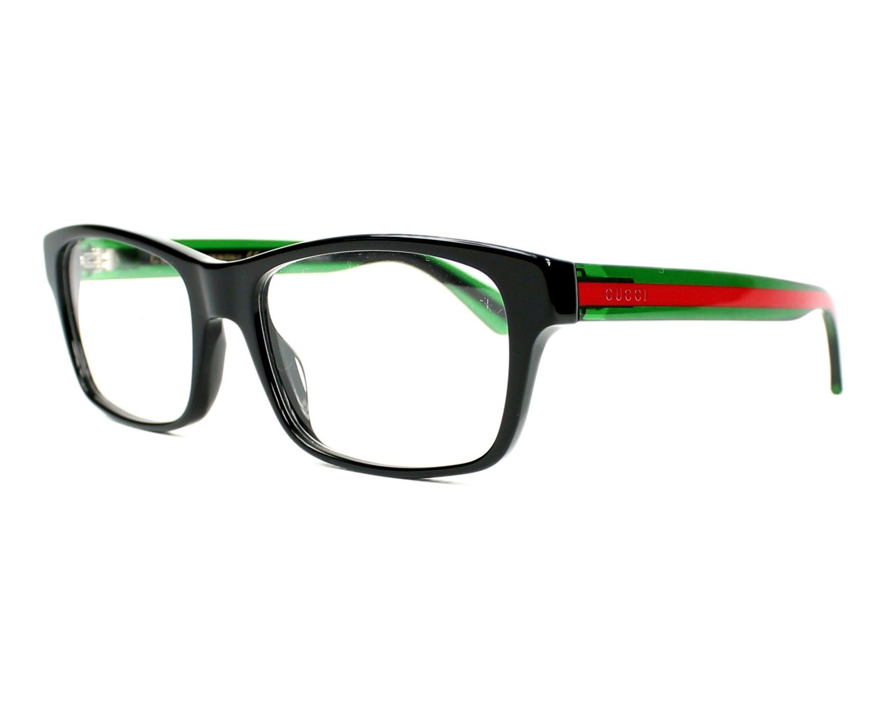 Gucci Eyeglasses Black GG-0006-O 006 - Visionet US