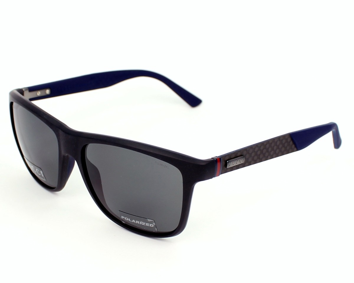 thumbnail Sunglasses Gucci GG-1047-NS AXW/RA - Black Grey profile view