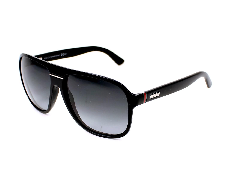 43e0a7210af thumbnail Sunglasses Gucci GG-1076-NS D28 9O - Black profile view