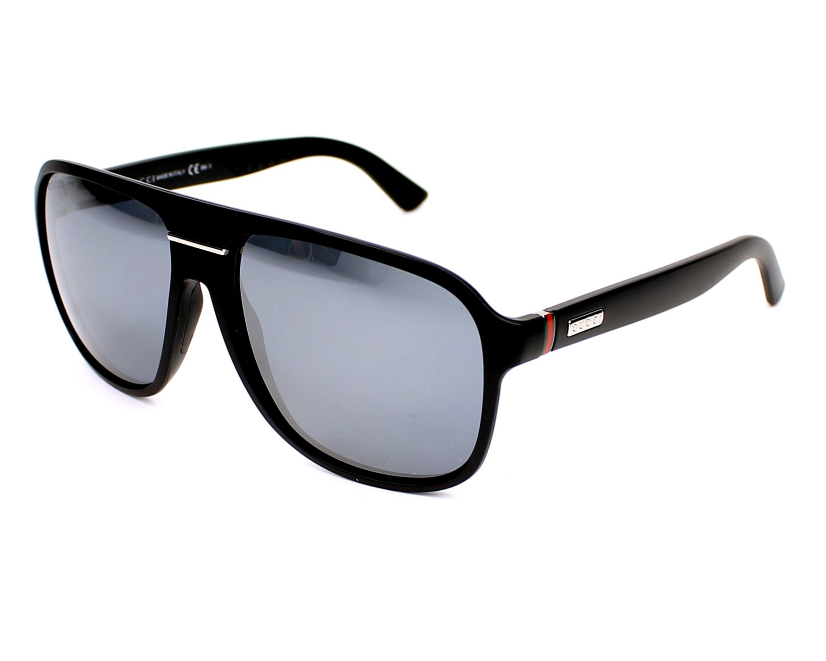 thumbnail Sunglasses Gucci GG-1076-NS DL5/4X - Black profile view
