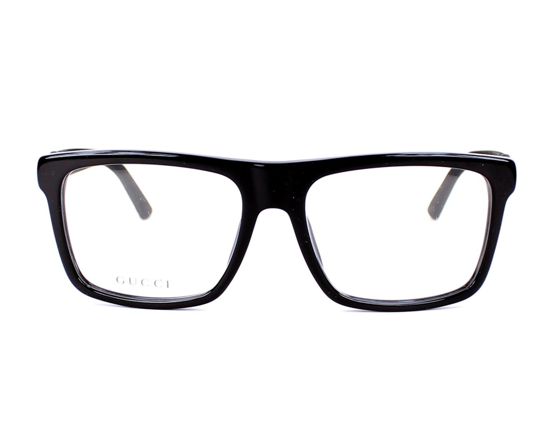 08c70586fe eyeglasses Gucci GG-1117 UI5 - Black front view