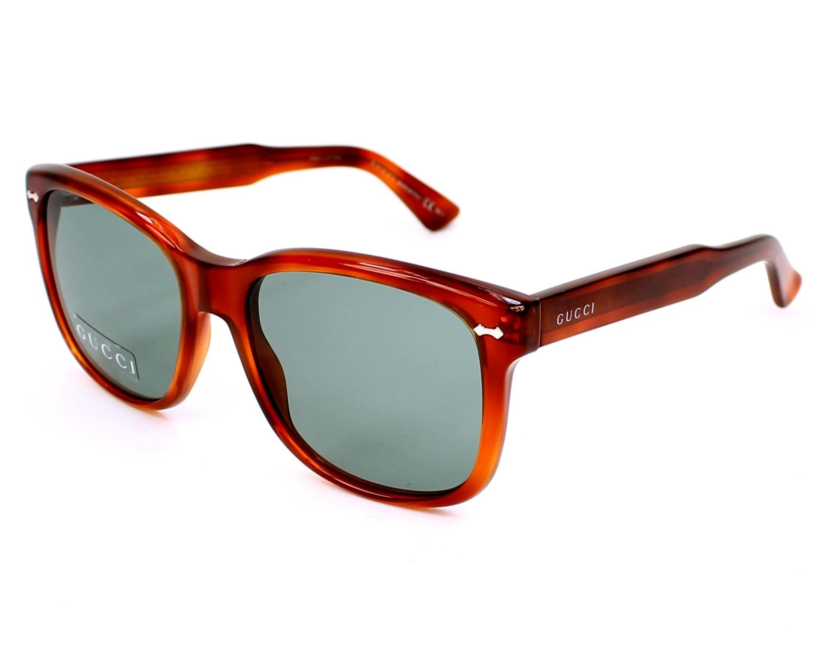 thumbnail Sunglasses Gucci GG-1134-S 056/5L - Brown profile view