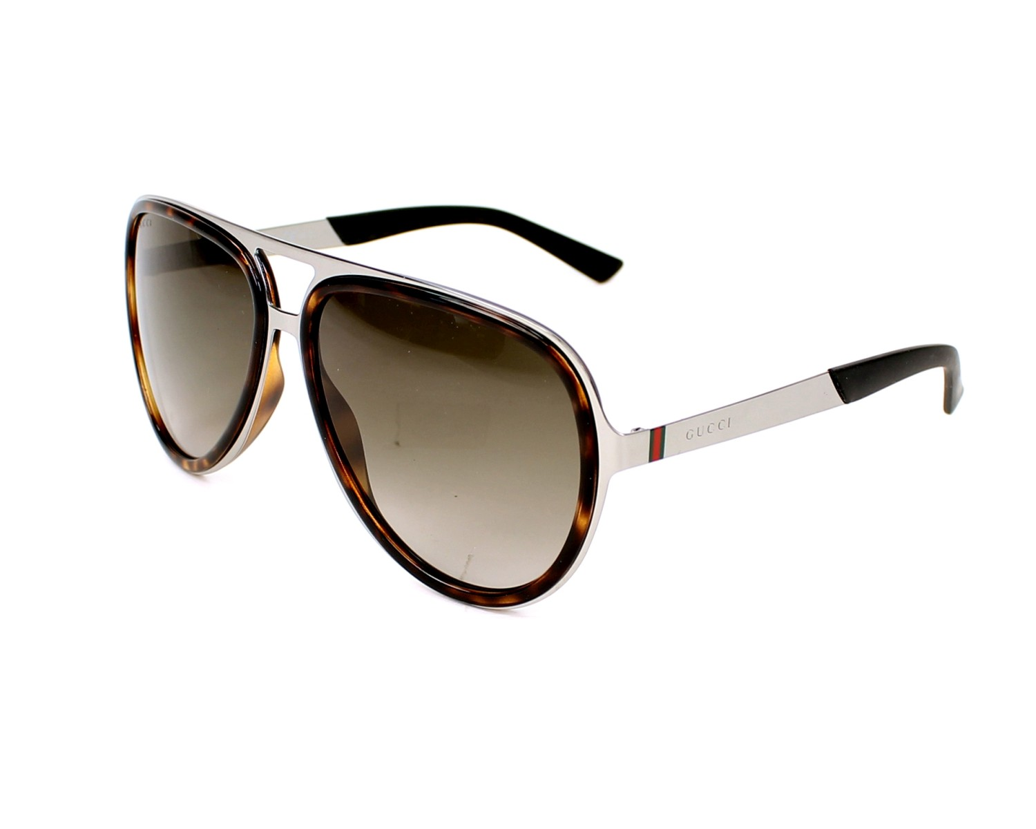 thumbnail Sunglasses Gucci GG-2274-S 6LB/HA - Gun Havana profile view