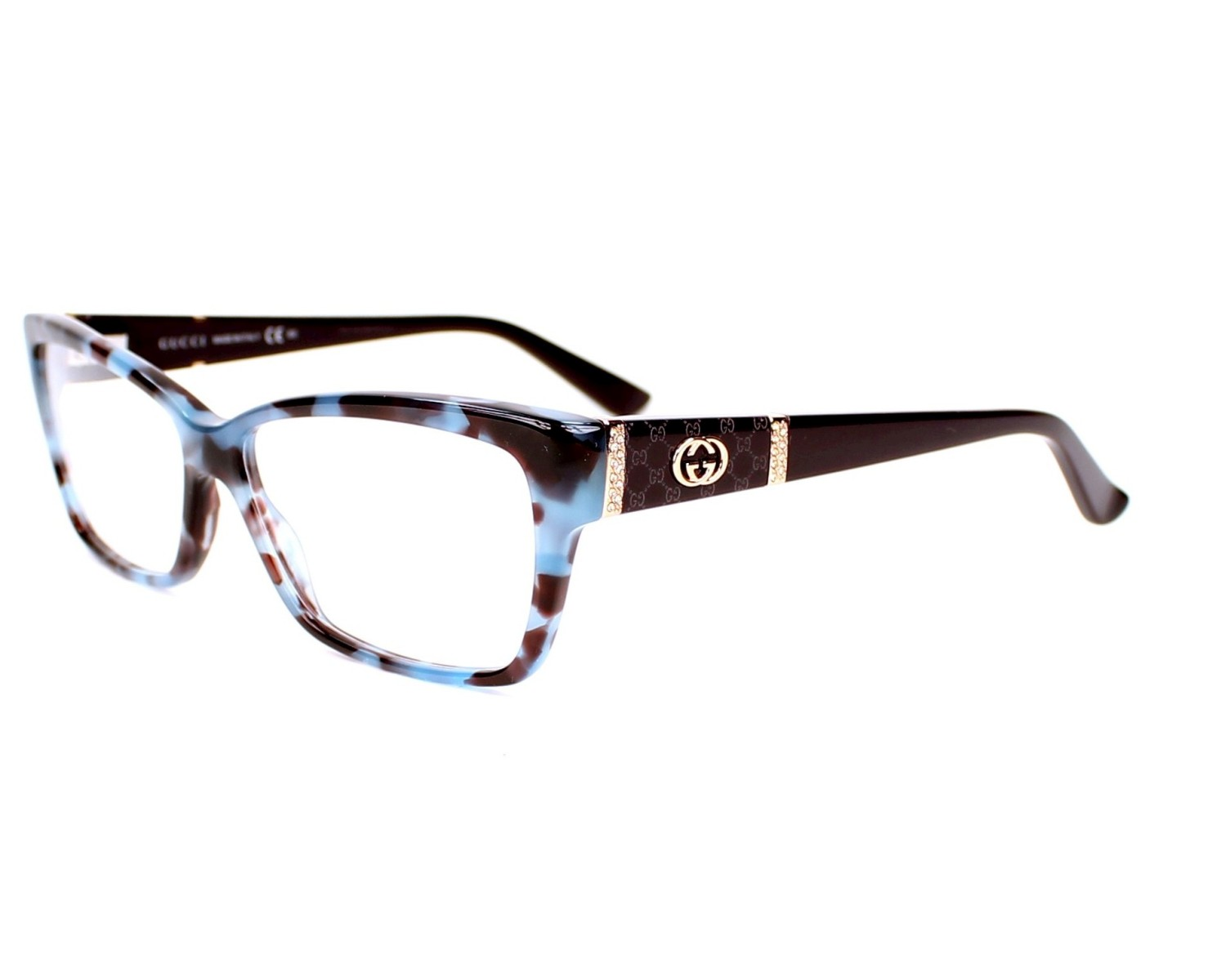 Gucci Eyeglass Frame 3559 : Order your Gucci eyeglasses GG 3559 MKB 55 today