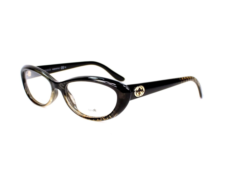 Gucci Eyeglasses Gg 3566 W8h Black Visio Net Com