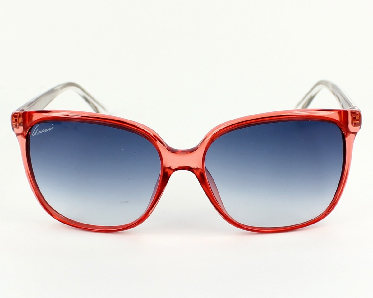 c11eec8c73d thumbnail Sunglasses Gucci GG-3696-S IUQ 08 - Red Crystal front view