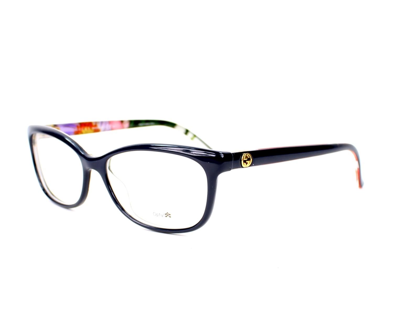 daeffd6c706 eyeglasses Gucci GG-3699-N WQ3 - Blue Clear profile view