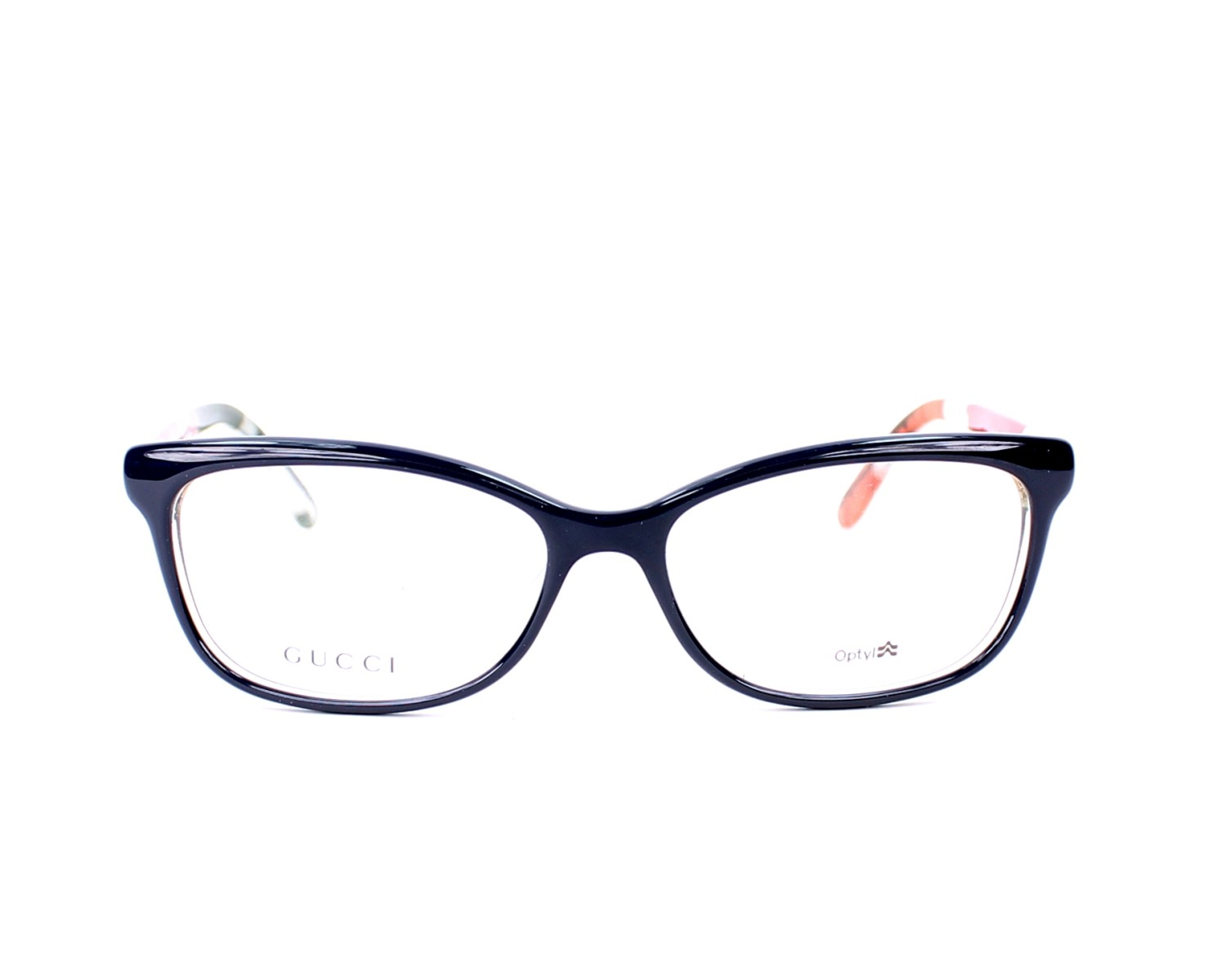 04172016057 eyeglasses Gucci GG-3699-N WQ3 - Blue Clear front view