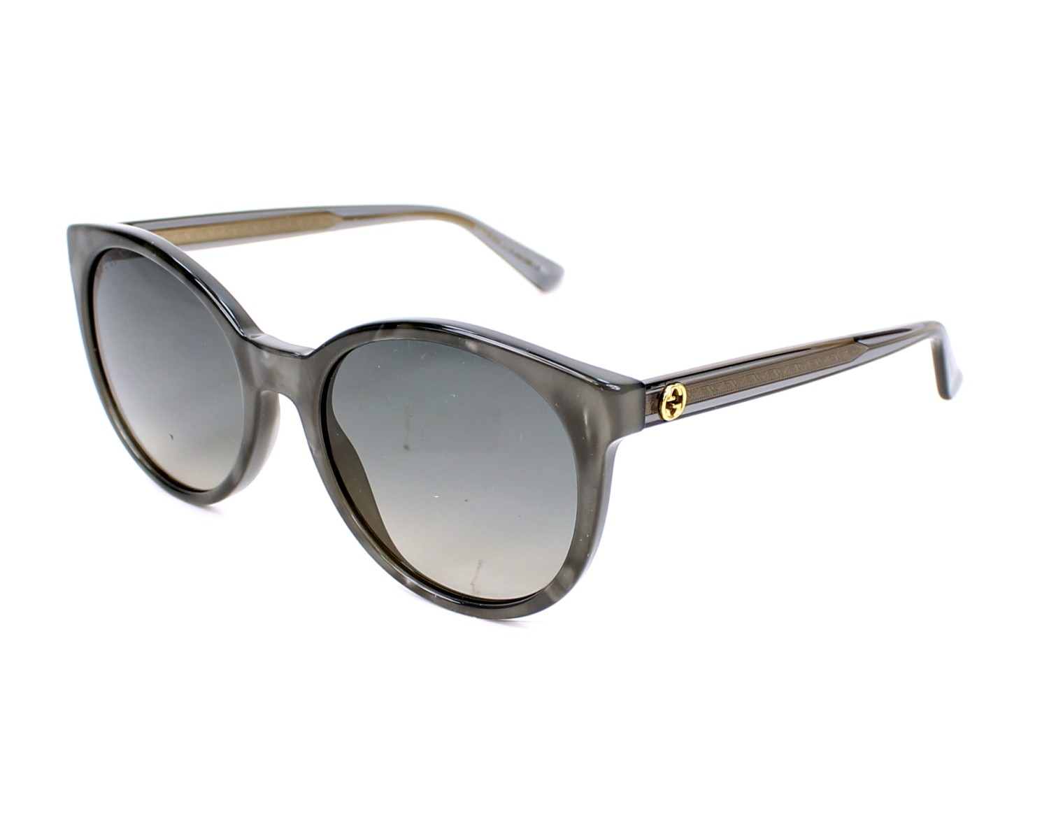 a12e9f0a7e0b Sunglasses Gucci GG-3820-S R4I DX 54-19 Grey profile view