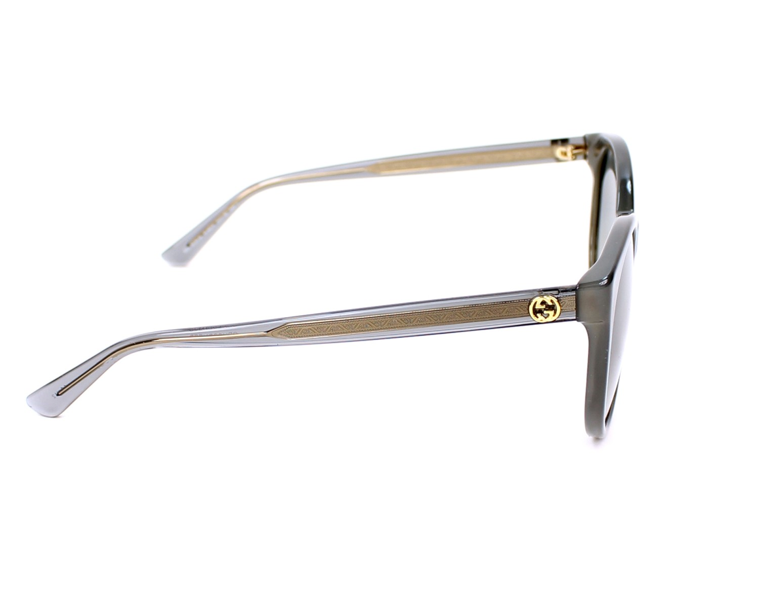 a956c4d16341 Sunglasses Gucci GG-3820-S R4I DX 54-19 Grey side view