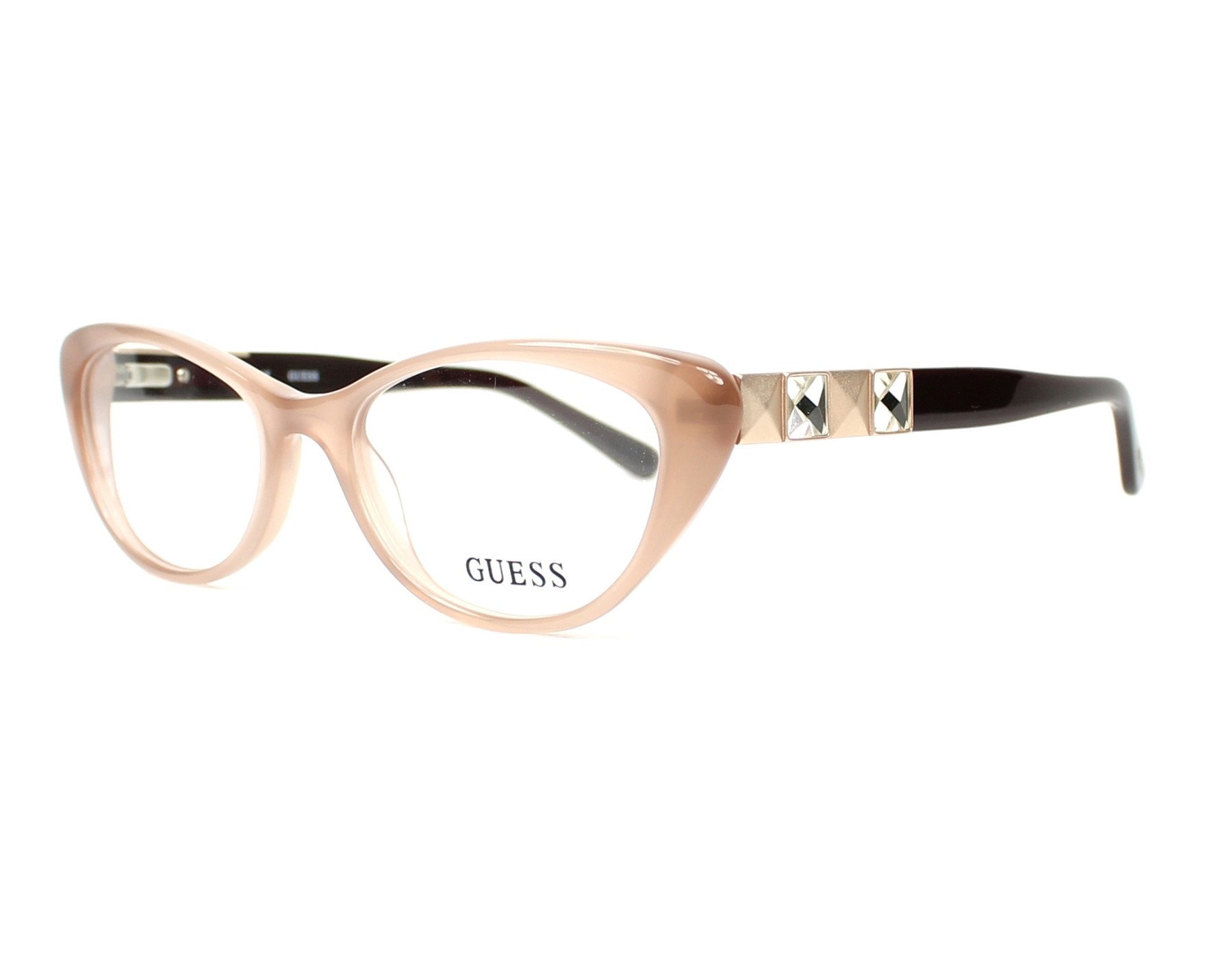 eyeglasses Guess GU-2415 BE - Beige Brown choc profile view d38e0201f95