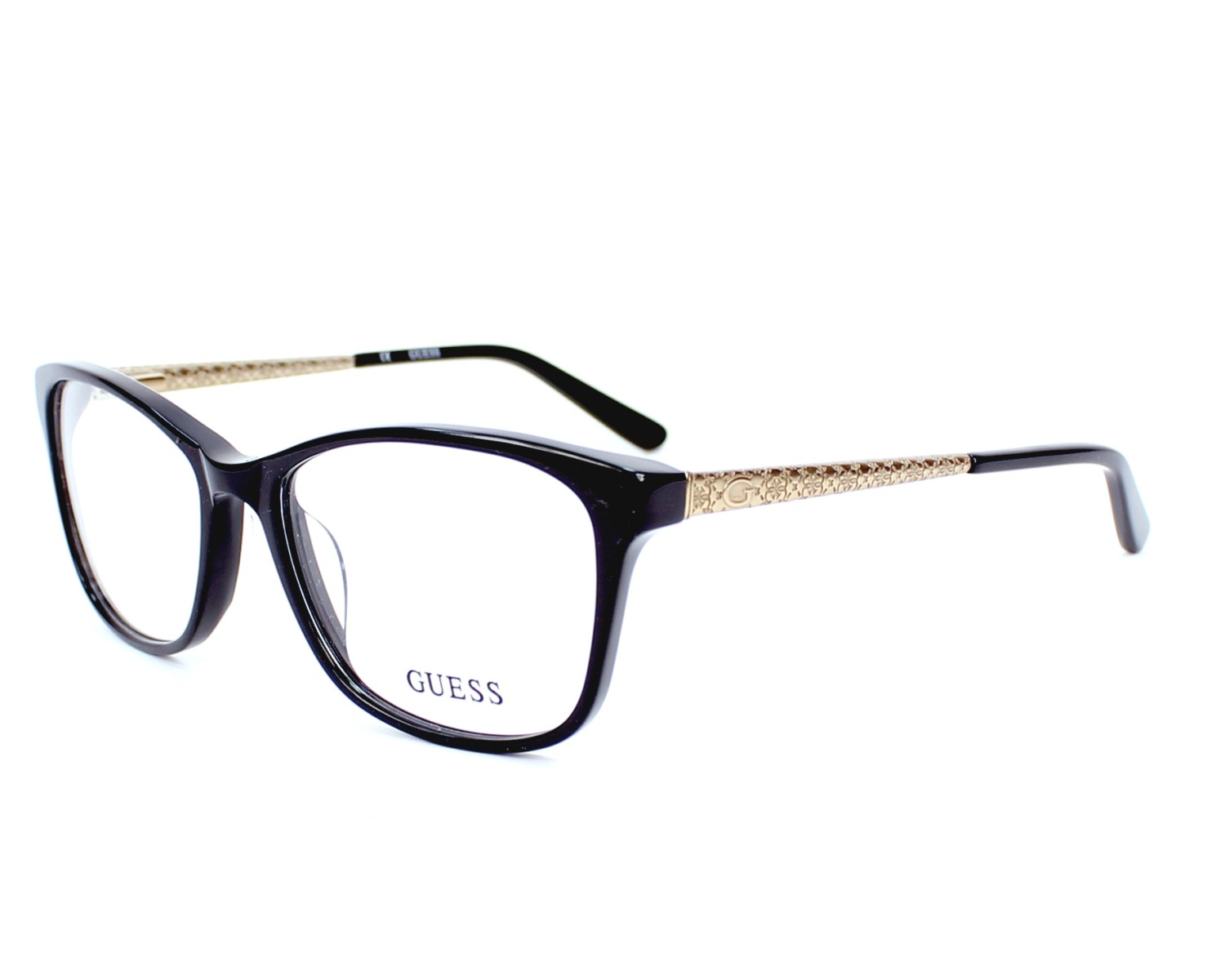Guess Eyeglasses Black GU-2500 001 - Visionet US
