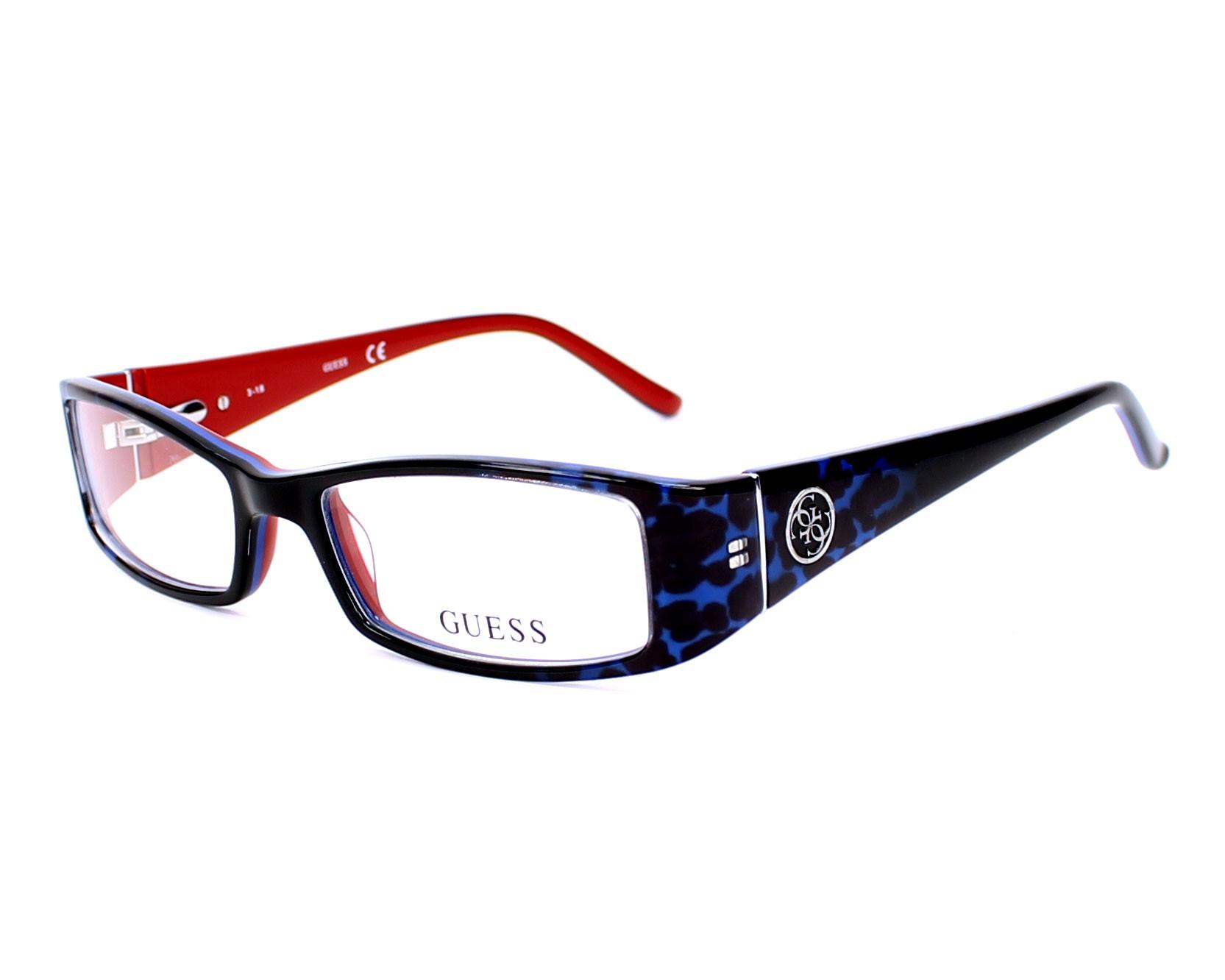 Guess Eyeglasses Black GU-2537 092 - Visionet US